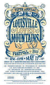 Louisville Loves Mountains Poster 2013