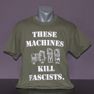 Men's These Machines Kill Fascists Front