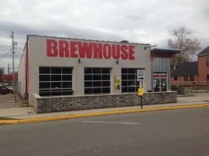 brewhouse facade